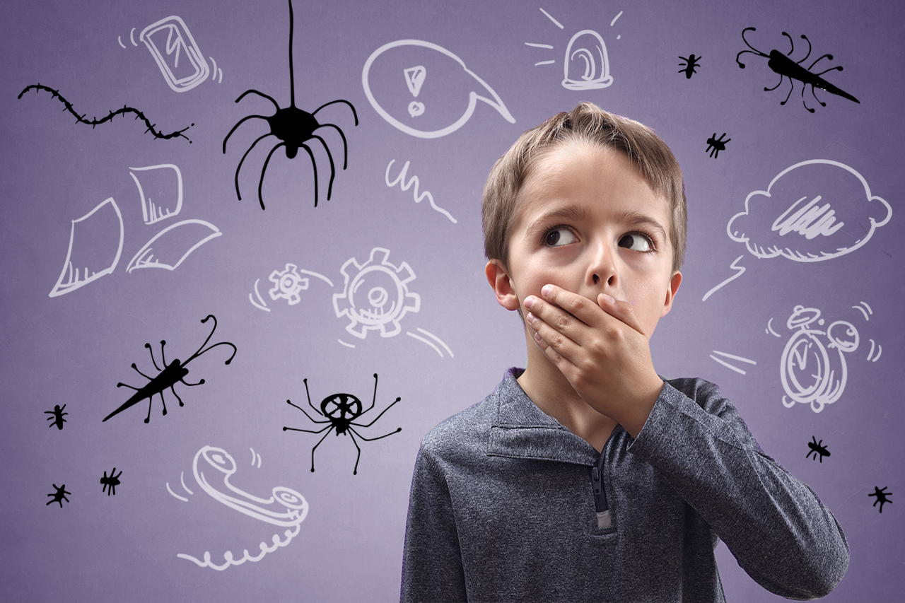 Тревожность картинки для детей